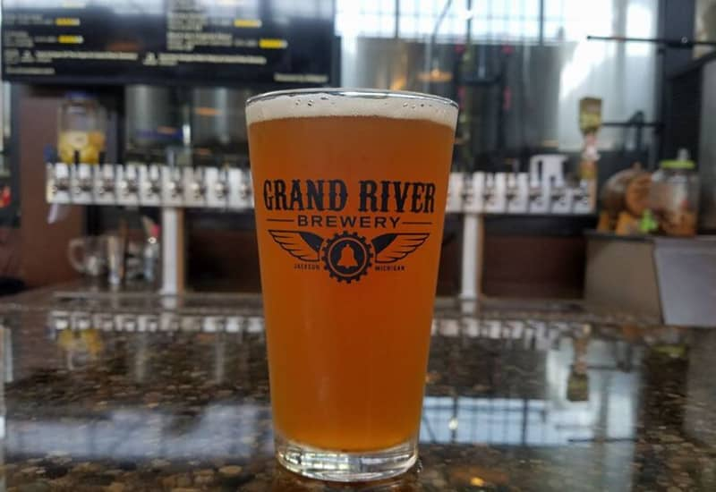 Grand River Brewery Jackson - one of the best things to do in Jackson Michigan
