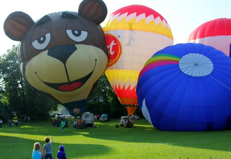 Hot Air Balloon Jubilee - one of the best events & festival in Jackson MI
