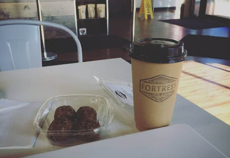 Fortress Cafe - Latte and Granola Bites