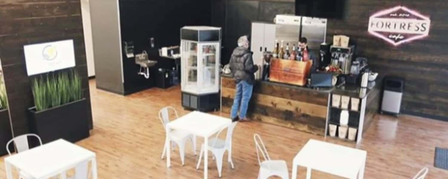 Fortress Cafe - a local coffee shop in downtown Jackson Michigan