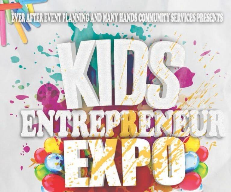 Kids Entrepreneur Expo Graphics, Jackson Michigan