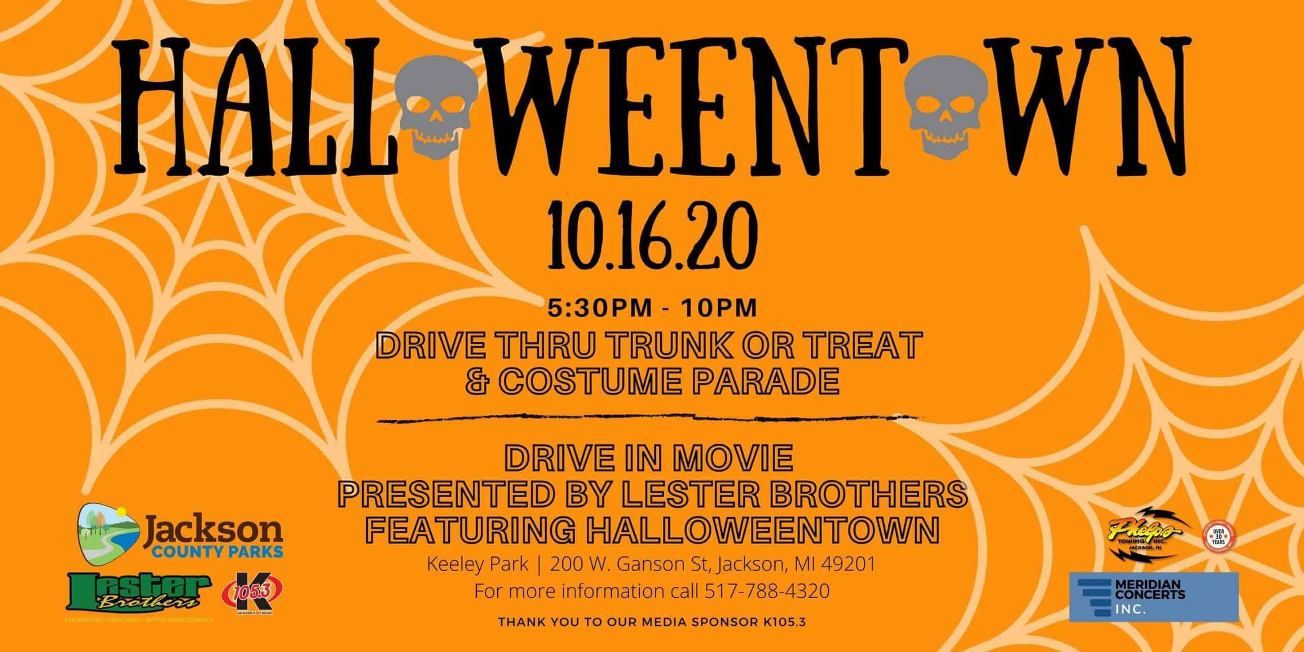 Halloweentown in Jackson County MI