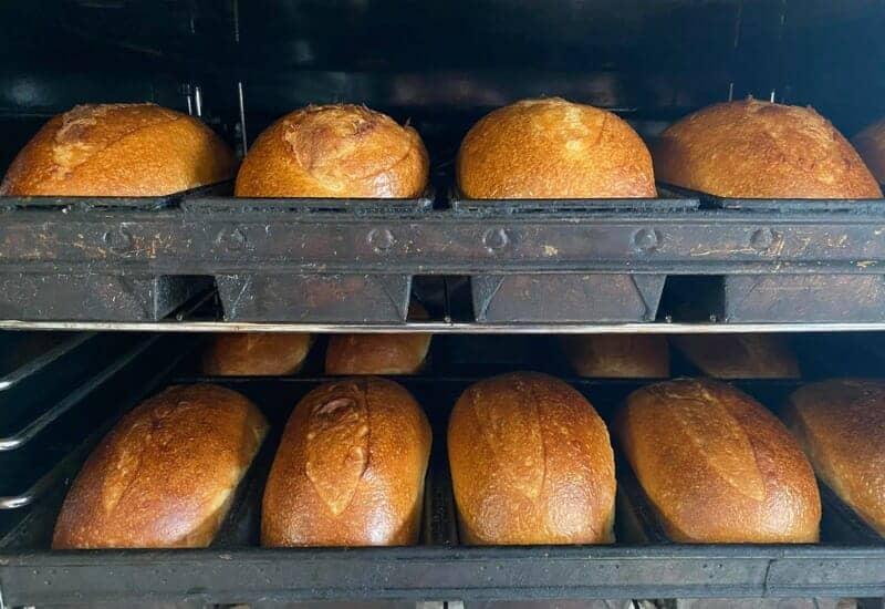 DoughNation Bakery in Jackson MI - Baking Bread