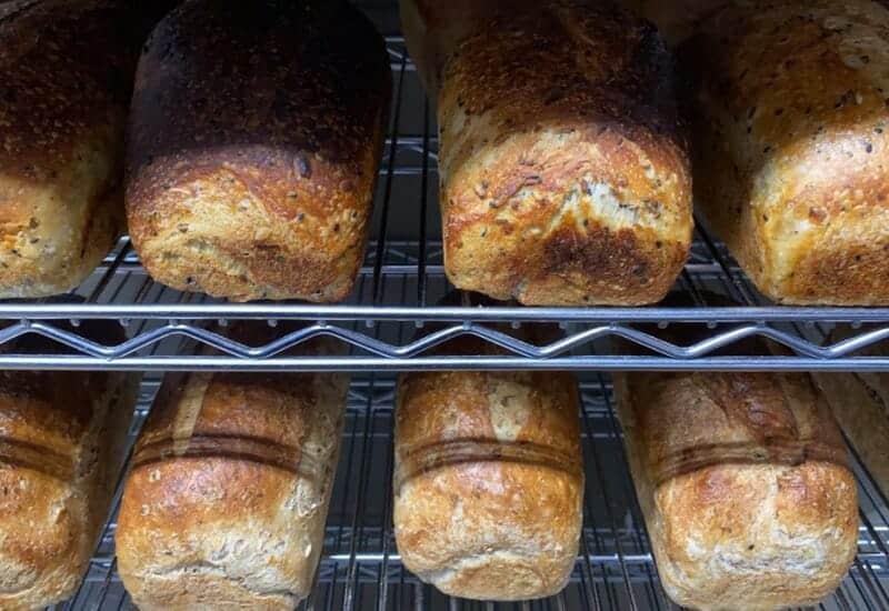 DoughNation Bakery in Jackson MI - bread loaves