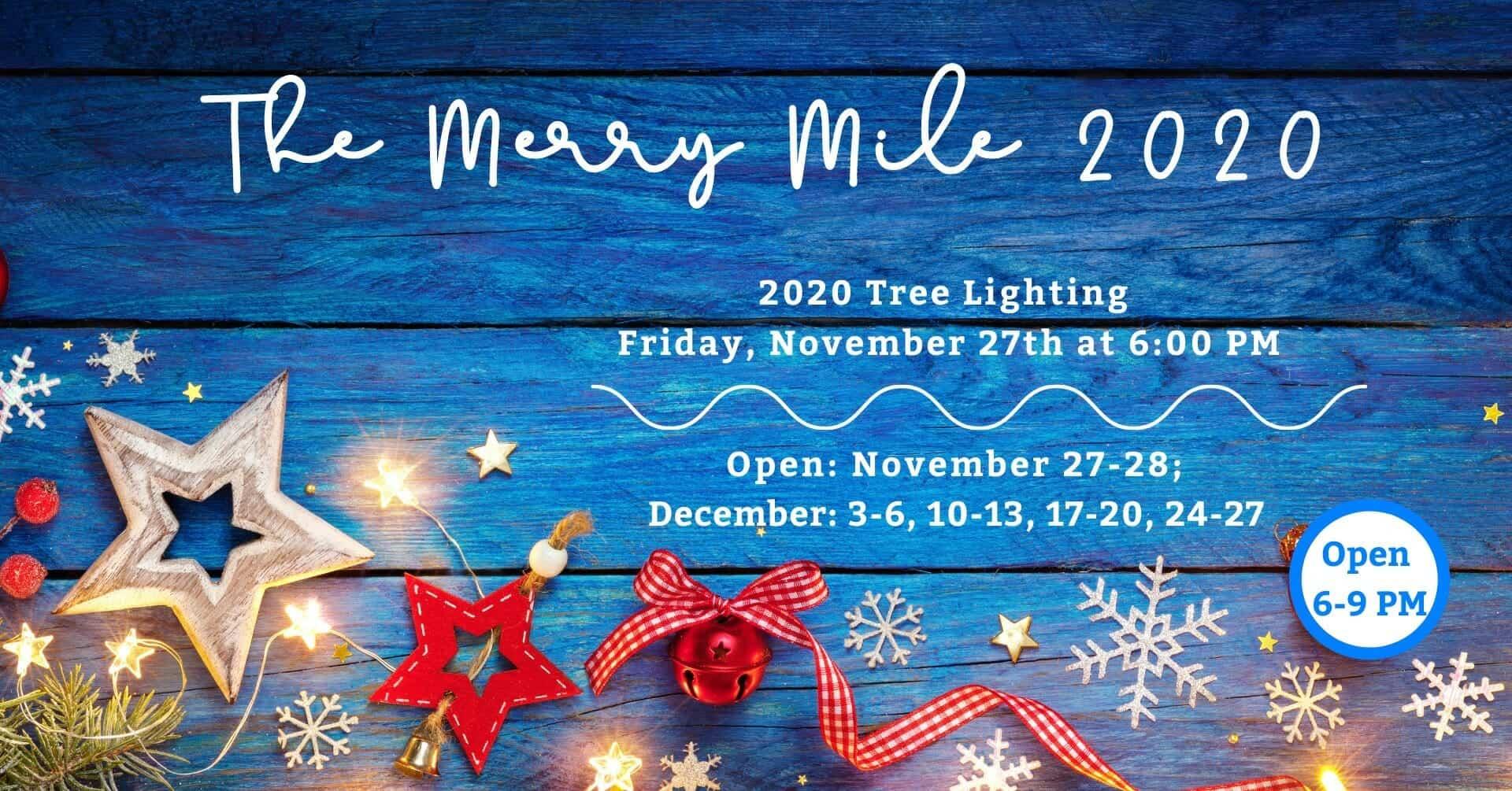 The Merry Mile at Calhoun County Fair Grounds in Jackson MI