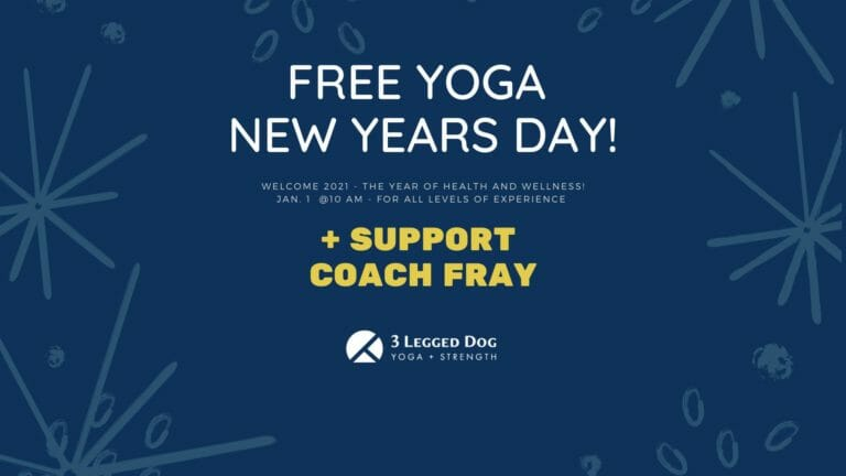 Free New Years Day Yoga