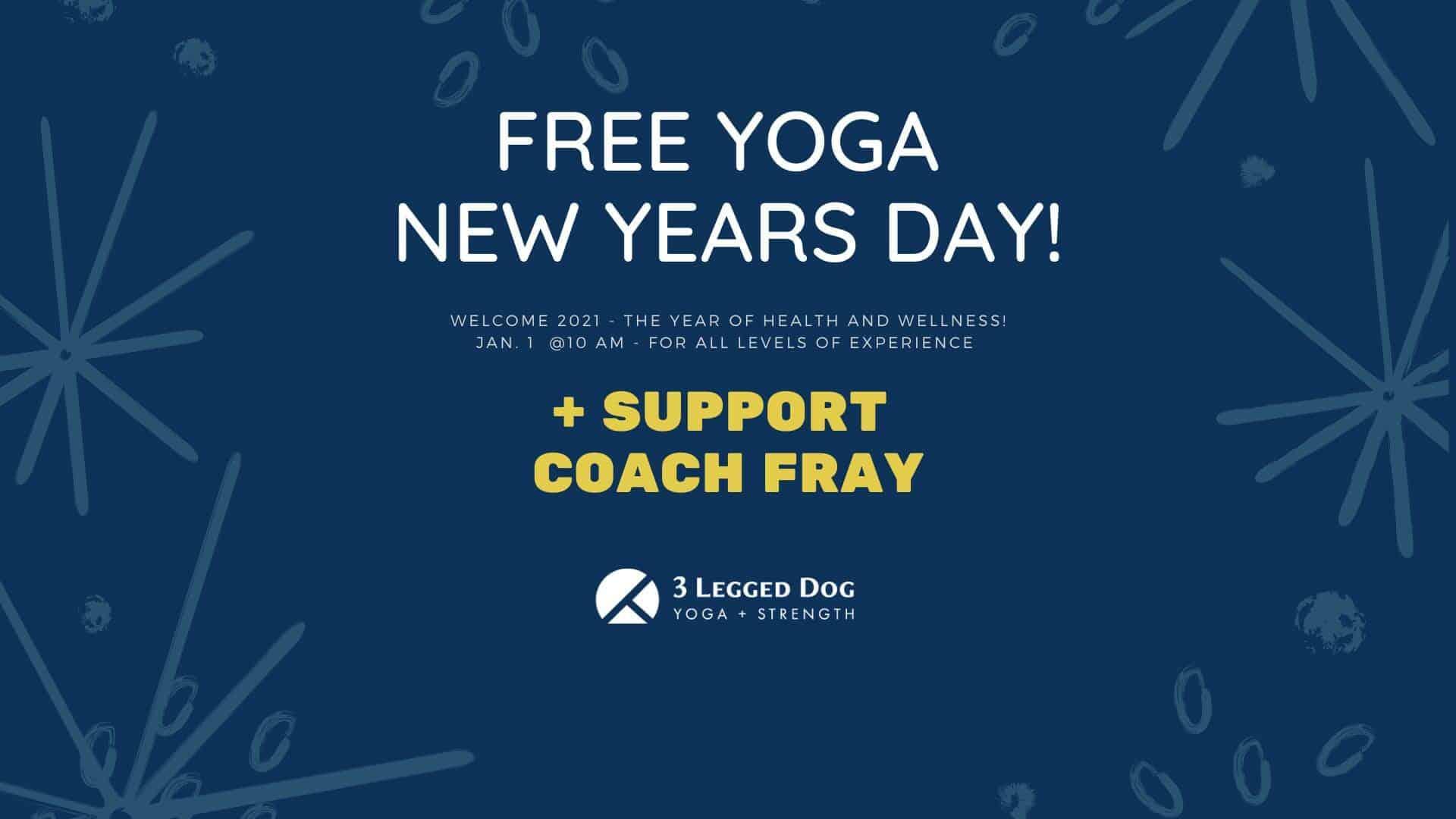 Free New Years Day Yoga