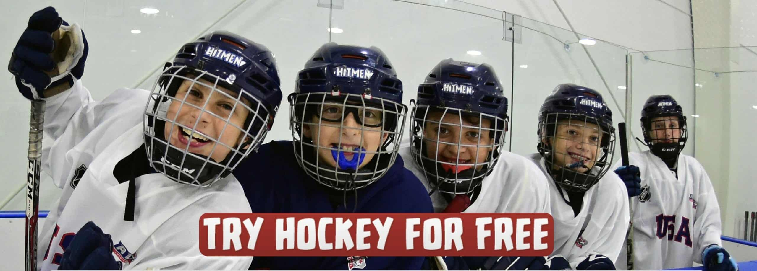 Try Hockey for Free at Optimist Ice Arena Jackson Michigan