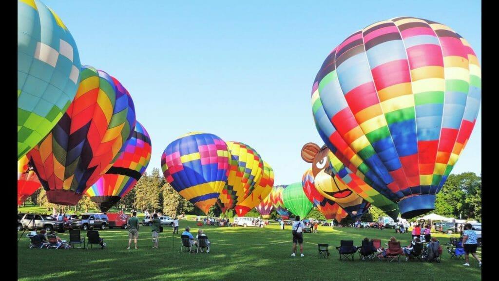 Hot Air Jubilee in Jackson Michigan
