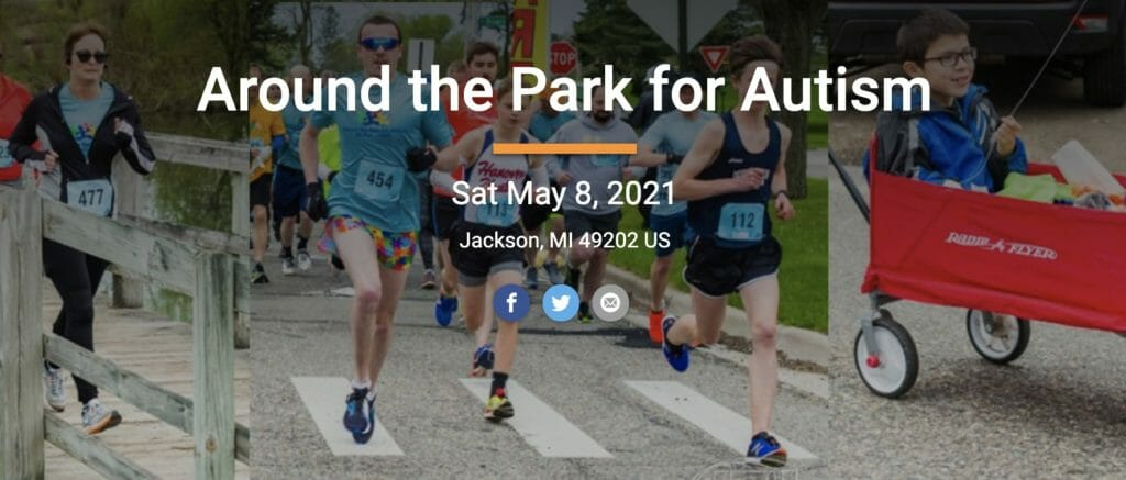 Around the Park for Autism