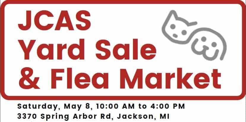 JCAS Yard Sale & Flea Market graphic