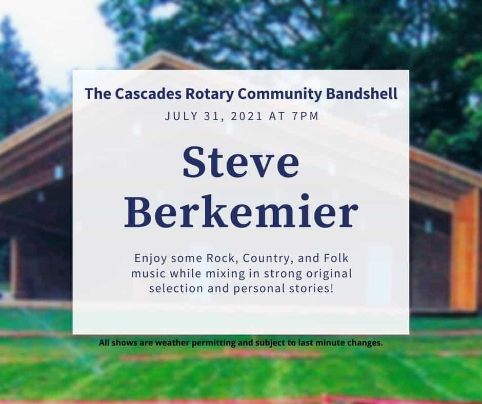 Cascade Summer Concert Series-SteveBerkemier