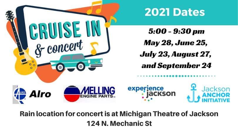 Cruise In & Concert Jackson MI