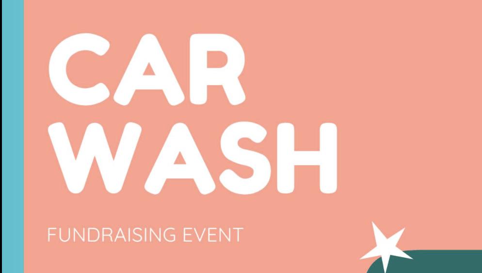 Car Wash event graphic