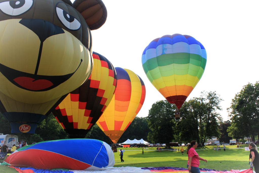 hot air jubilee - jackson balloon festival