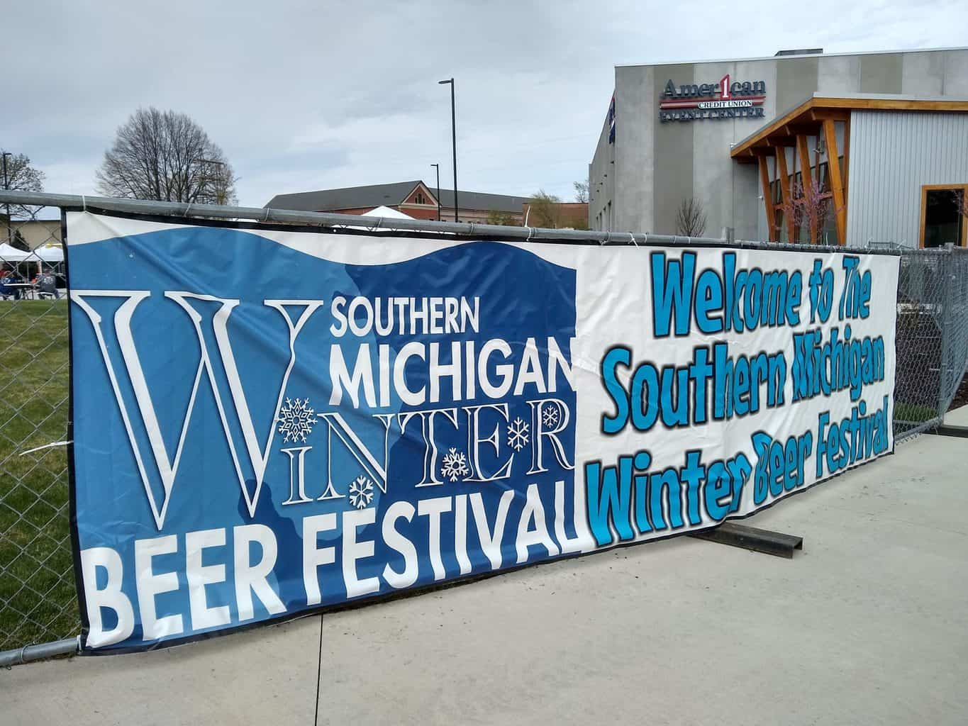 Southern Michigan Winter Beer Festival Sign